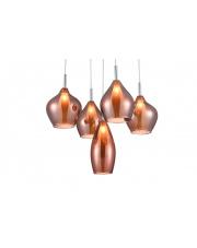 Lampa wisząca Amber Milano AZ3172 AZzardo nowoczesna oprawa wisząca w stylu design