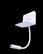 Kinkiet Vera AZ4417 AZzardo minimalistyczna oprawa w kolorze białym