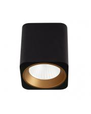 Oprawa natynkowa Tub C0212 kwadratowa czarna MaxLight