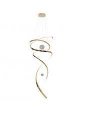 Lampa wisząca Ritz P0427D w kolorze złotym MaxLight
