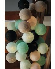Kompozycja kolorowych kul LED Marin Cotton Ball Lights