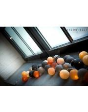 Kompozycja kolorowych kul LED New Design Cotton Ball Lights