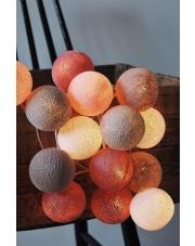Kompozycja kolorowych kul LED Petit Cotton Ball Lights