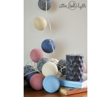 Kompozycja kolorowych kul LED Hej Łobuzy! Cotton Ball Lights