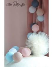 Kompozycja kolorowych kul Kolory 2016 Cotton Ball Lights