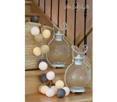 Kompozycja kolorowych kul Misty Cotton Ball Lights