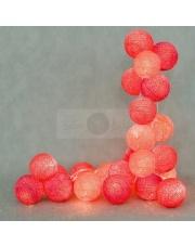 Kompozycja kolorowych kul Hot Cotton Ball Lights