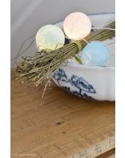 Kompozycja kolorowych kul Big Blue Cotton Ball Lights