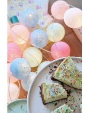 Kompozycja kolorowych kul Baby set Cotton Ball Lights