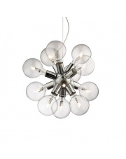 Lampa wisząca Dea 074771 Ideal Lux chromowana stylowa oprawa wisząca