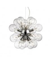 Lampa wisząca Dea 074801 Ideal Lux chromowana stylowa oprawa wisząca