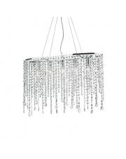 Lampa wisząca Rain Clear 008363 Ideal Lux stylowa kryształowa oprawa wisząca