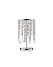 Lampa stołowa Rain Clear 008356 Ideal Lux stylowa kryształowa oprawa stołowa