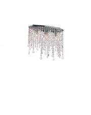 Plafon Rain Clear 008370 Ideal Lux stylowa kryształowa oprawa sufitowa