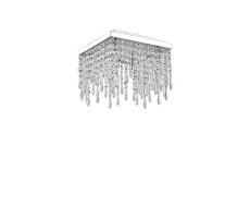 Plafon Giada Clear 098777 Ideal Lux stylowa kryształowa oprawa sufitowa