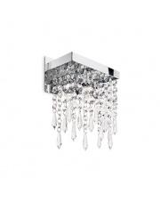Kinkiet Giada Clear 098784 Ideal Lux stylowa kryształowa oprawa ścienna