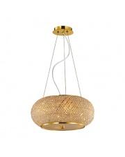 Lampa wisząca Pasha SP6 Ideal Lux kryształowa stylowa oprawa wisząca