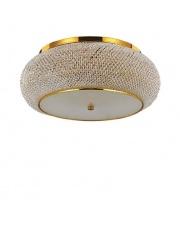 Plafon Pasha PL10 Ideal Lux kryształowa stylowa oprawa sufitowa