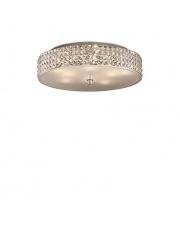 Lampa Roma 087863 Ideal Lux stylowa kryształowa oprawa sufitowa