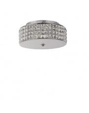 Lampa Roma 093093 Ideal Lux stylowa kryształowa oprawa sufitowa