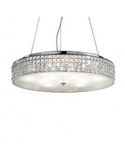 Lampa wisząca Roma 093062 Ideal Lux stylowa kryształowa oprawa wisząca
