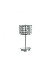 Lampa stołowa Roma 114620 Ideal Lux stylowa kryształowa oprawa stołowa