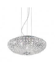 Lampa wisząca Virgin 023328 Ideal Lux oprawa wisząca z kryształami