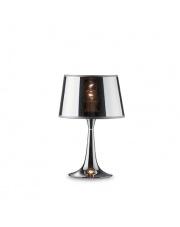 Lampa stołowa London Cromo Small 032368 Ideal Lux oprawa stołowa w stylu nowoczesnym