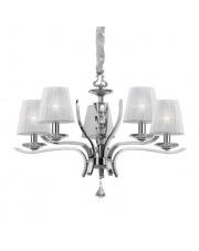 Żyrandol Pegaso SP5 Ideal Lux  klasyczna stylowa oprawa wisząca