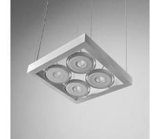 Lampa wisząca Cadra 111x4 SQ QRLED 230V Aquaform