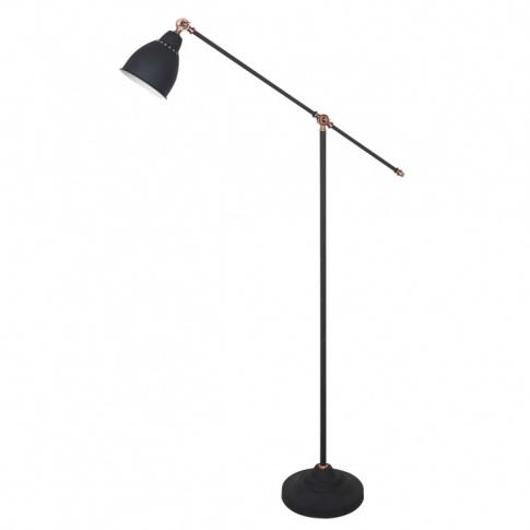 Lampa Podłogowa Sonny Ml Hn3101 1 B Italux Czarna Oprawa