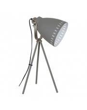 Lampa podłogowa Franklin ML-HN2278-GR+S.NICK Italux szara industrialna oprawa stojąca