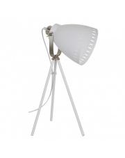 Lampa podłogowa Franklin ML-HN2278-WH+S.NICK Italux biała industrialna oprawa stojąca