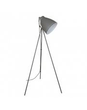 Lampa podłogowa Franklin ML-HN3068-GR+S.NICK Italux szara industrialna oprawa stojąca