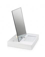 PROMOCJA! Lampa stołowa REFLECT 107057 Markslojd nowoczesna lampka ze ściemniaczem i lustrem biała port USB