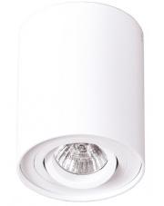 Plafon oprawa natynkowa Basic Round I C0067 Maxlight nowoczesna oprawa w kolorze białym