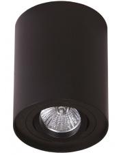 Plafon oprawa natynkowa Basic Round I C0068 Maxlight pojedyncza oprawa w kolorze czarnym