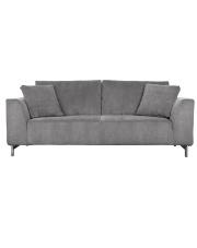 Sofa DRAGON 3-SEATER COOL GREY 3200042 Zuiver trzyosobowa sofa z obiciem w kolorze jasnoszarym