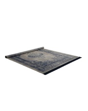 Dywan MARVEL 170x240 NEPTUNE 6000074 Zuiver orientalny dywan z frędzlami w niebieskim kolorze tkany maszynowo