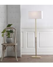 Białe lampy podłogowe - stylowy element każdej aranżacji